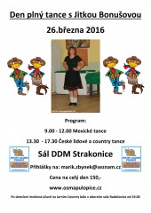 Den tance s Jitkou Bonušovou