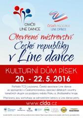 OMČR v Line Dance 2016